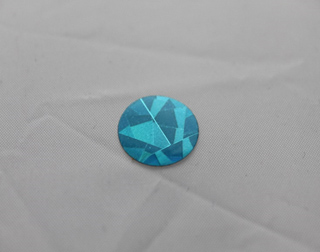 Blue Holographic 5/8 Dot SKU-10283014